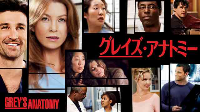 グレイズ・アナトミー〜恋の解剖学〜<Grey's Anatomy>