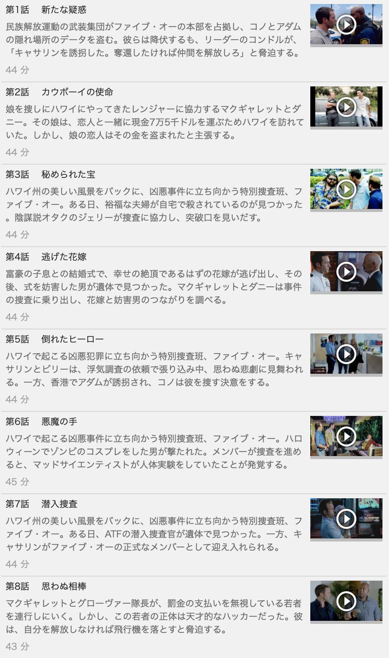 【HAWAII FIVE-0<ハワイファイブオー>シーズン4】の動画を全話見る方法は「U-NEXT(ユーネクスト)の31日間無料視聴」を活用することで解決!