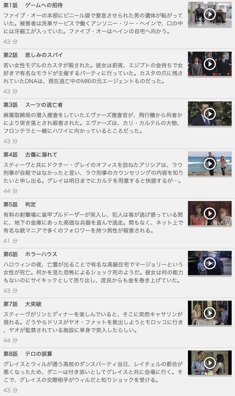 【HAWAII FIVE-0<ハワイファイブオー>シーズン7】の動画を全話見る方法は「U-NEXT(ユーネクスト)の31日間無料視聴」を活用することで解決!