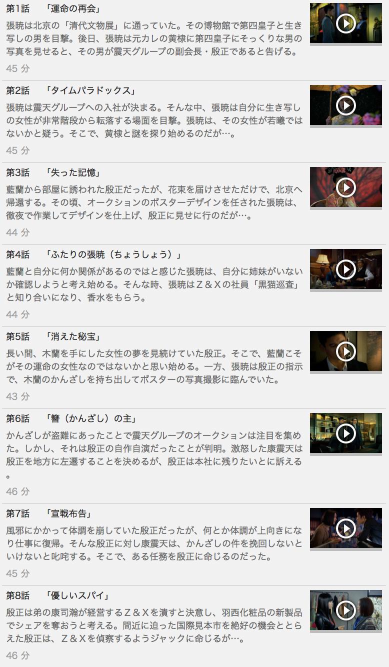 【続・宮廷女官 若曦<ジャクギ>~輪廻の恋~】の動画を全話見る方法は「U-NEXT(ユーネクスト)の31日間無料視聴」を活用することで解決!