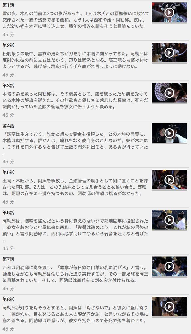 【絢爛たる一族~華と乱~】の動画を全話見る方法は「U-NEXT(ユーネクスト)の31日間無料視聴」を活用することで解決!