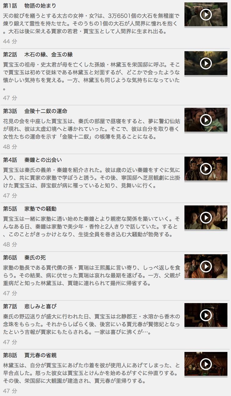 【紅楼夢<こうろうむ>~愛の宴~】の動画を全話見る方法は「U-NEXT(ユーネクスト)の31日間無料視聴」を活用することで解決!