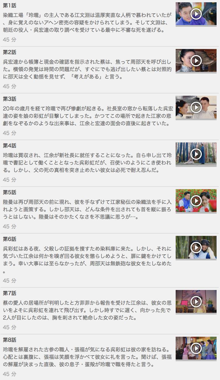 【名家の恋衣】の動画を全話見る方法は「U-NEXT(ユーネクスト)の31日間無料視聴」を活用することで解決!