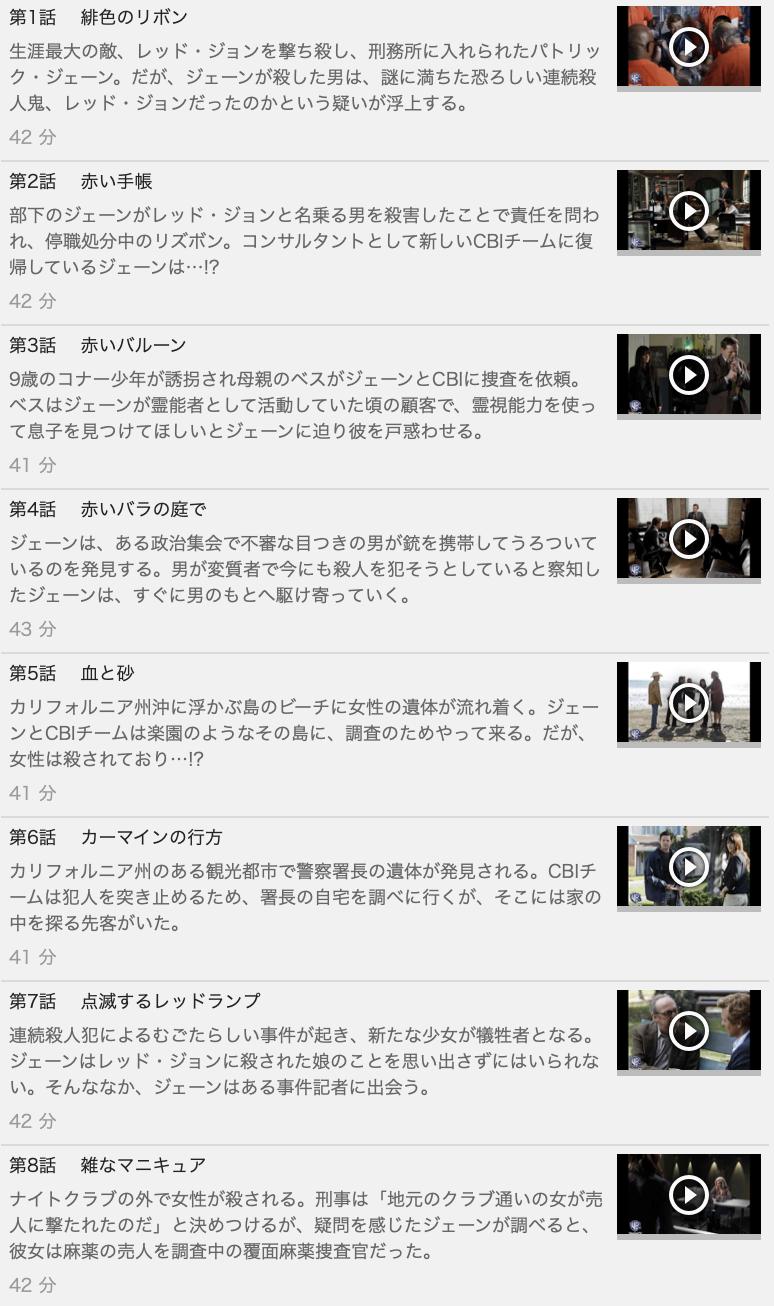 【THE MENTALIST<メンタリスト>シーズン4】の動画を全話見る方法は「U-NEXT(ユーネクスト)の31日間無料視聴」を活用することで解決!