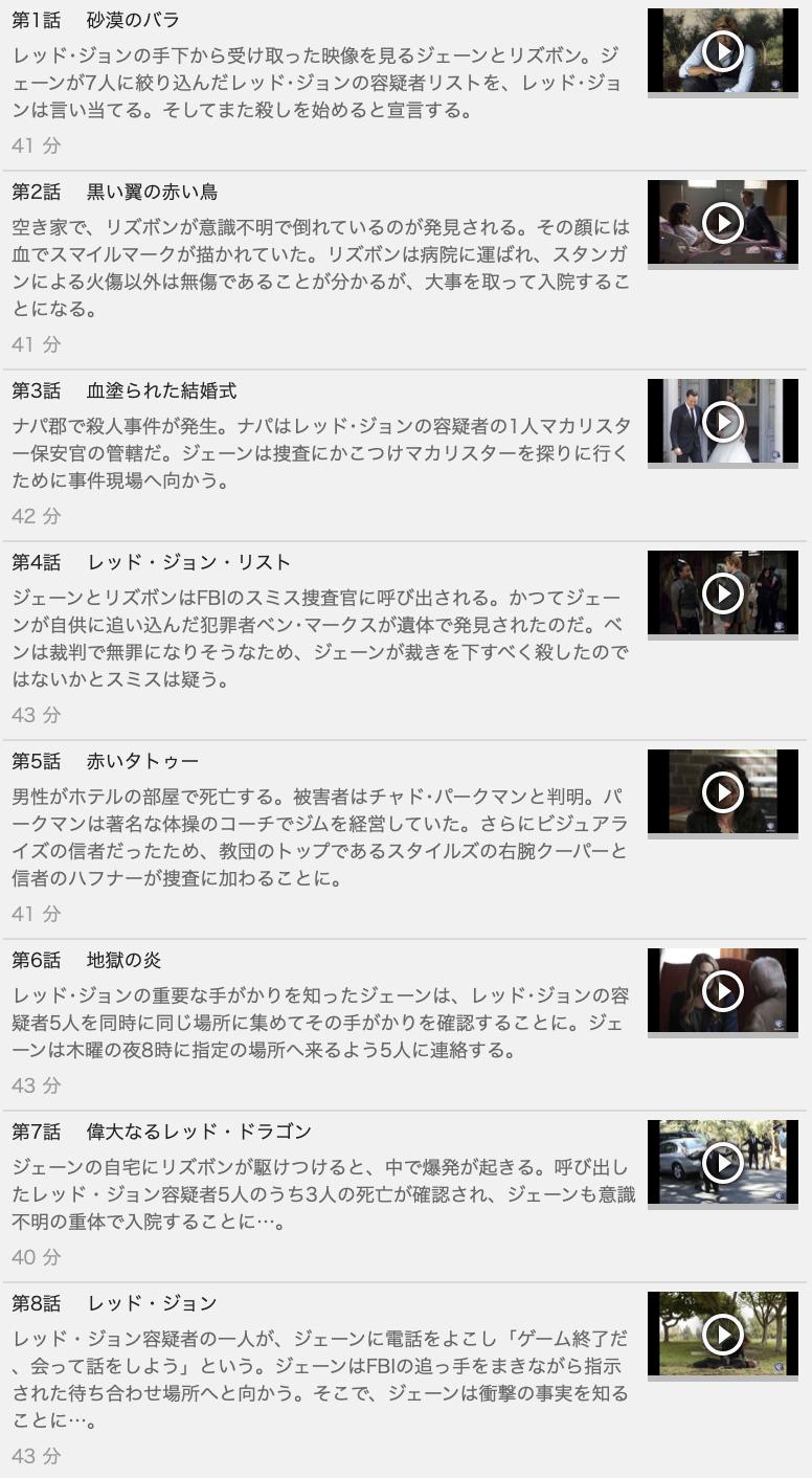 【THE MENTALIST<メンタリスト>シーズン6】の動画を全話見る方法は「U-NEXT(ユーネクスト)の31日間無料視聴」を活用することで解決!