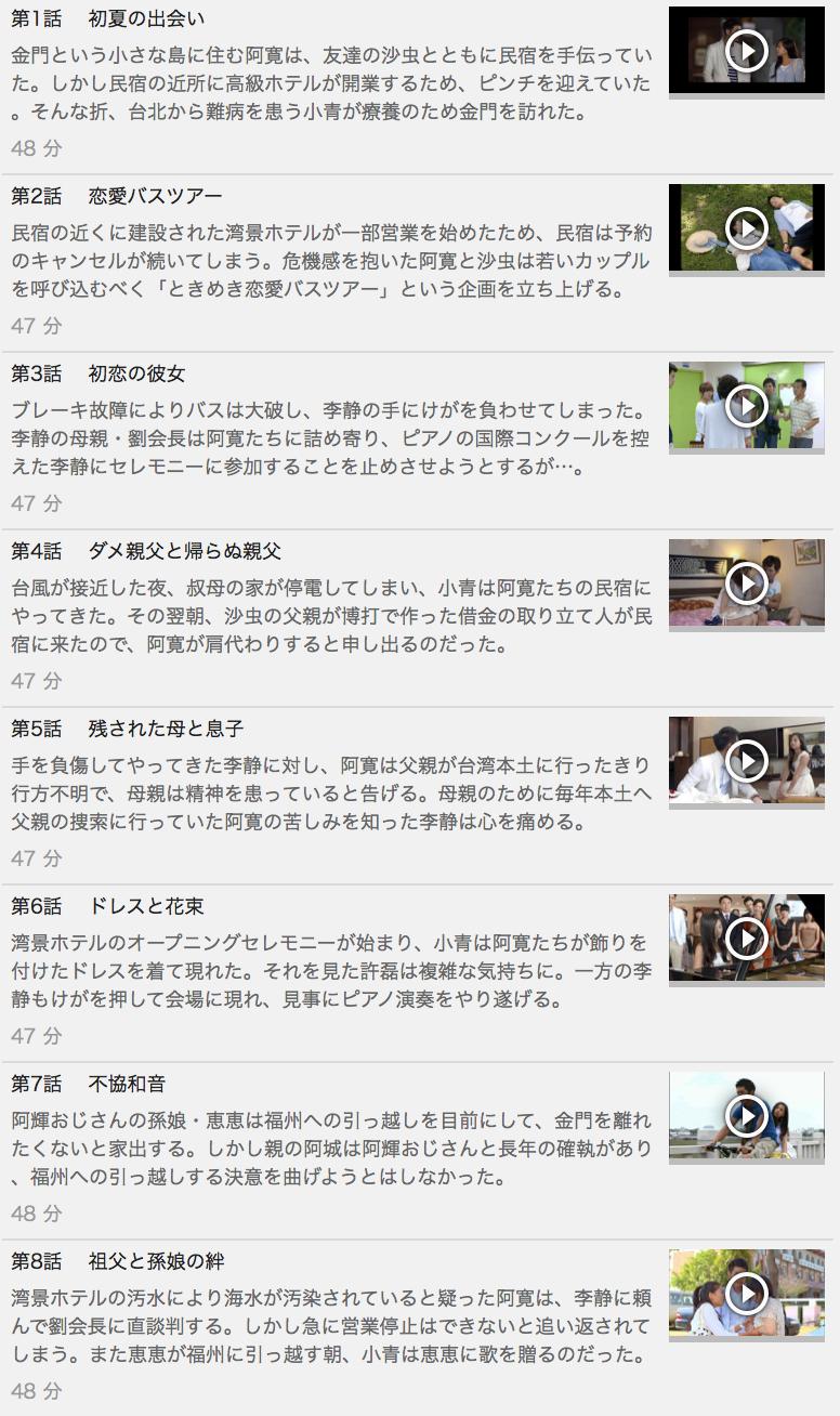 【夏の協奏曲(戀夏38℃)】の動画を全話見る方法は「U-NEXT(ユーネクスト)の31日間無料視聴」を活用することで解決!