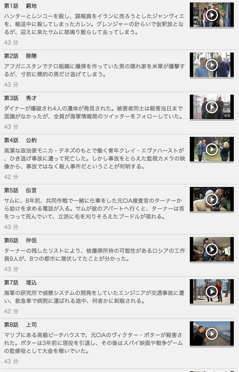【NCIS:LA ~極秘潜入捜査班 シーズン4】の動画を全話見る方法は「U-NEXT(ユーネクスト)の31日間無料視聴」を活用することで解決!