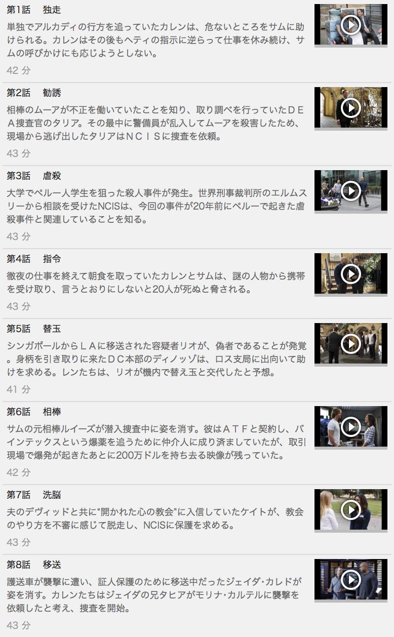 【NCIS:LA ~極秘潜入捜査班 シーズン7】の動画を全話見る方法は「U-NEXT(ユーネクスト)の31日間無料視聴」を活用することで解決!