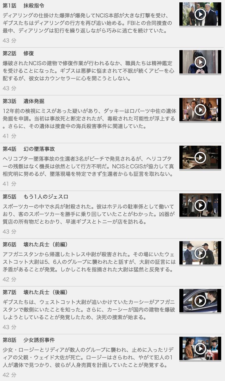 【NCIS~ネイビー犯罪捜査班 シーズン10】の動画を全話見る方法は「U-NEXT(ユーネクスト)の31日間無料視聴」を活用することで解決!