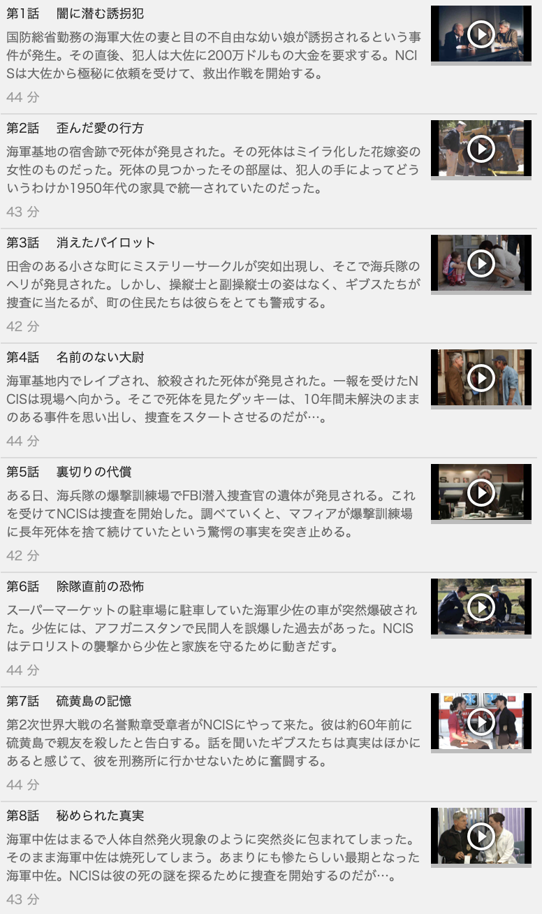 【NCIS~ネイビー犯罪捜査班 シーズン2】の動画を全話見る方法は「U-NEXT(ユーネクスト)の31日間無料視聴」を活用することで解決!