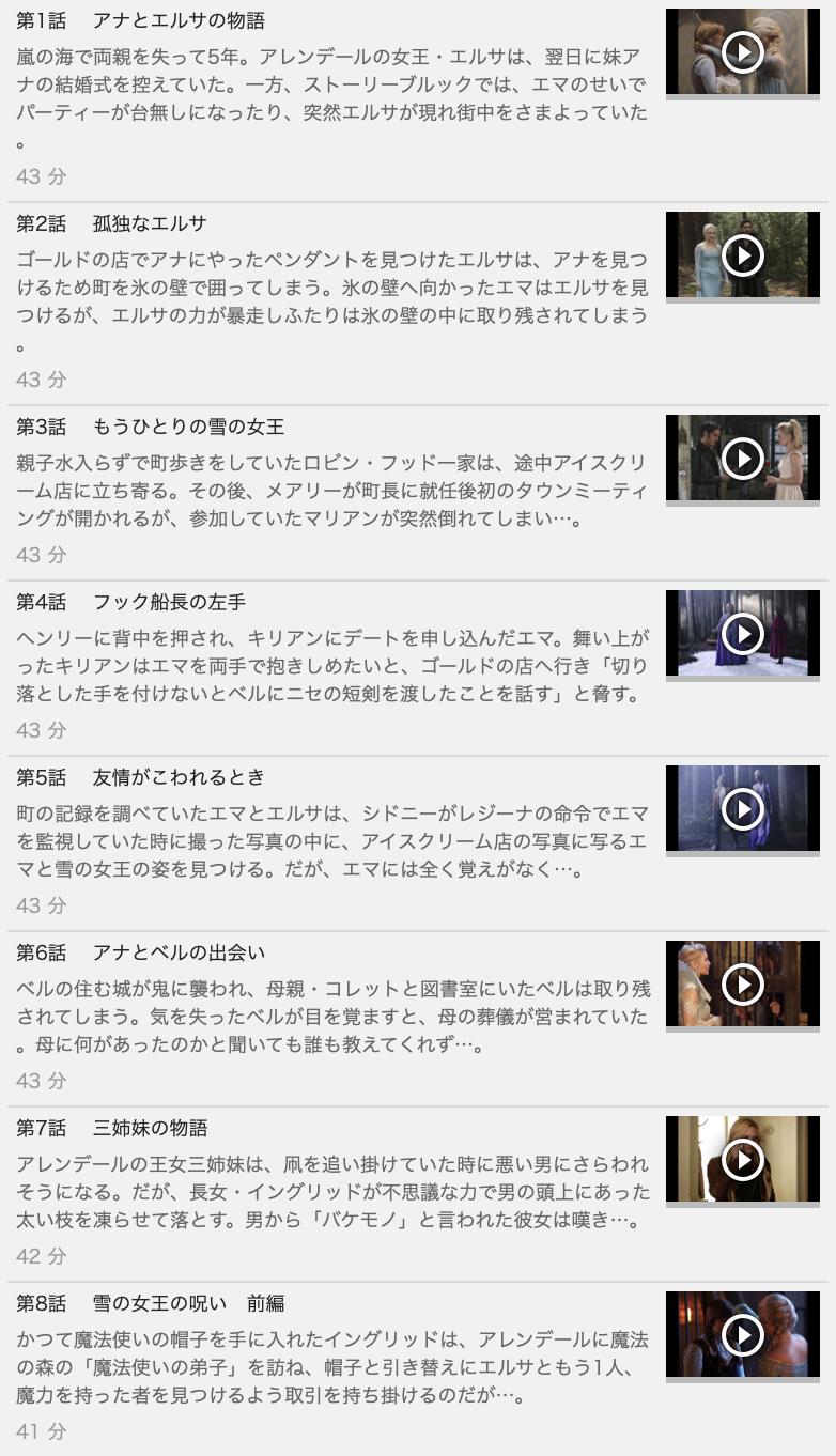 【ONCE UPON A TIME<ワンス・アポン・ア・タイム>シーズン4】の動画を全話見る方法は「U-NEXT(ユーネクスト)の31日間無料視聴」を活用することで解決!
