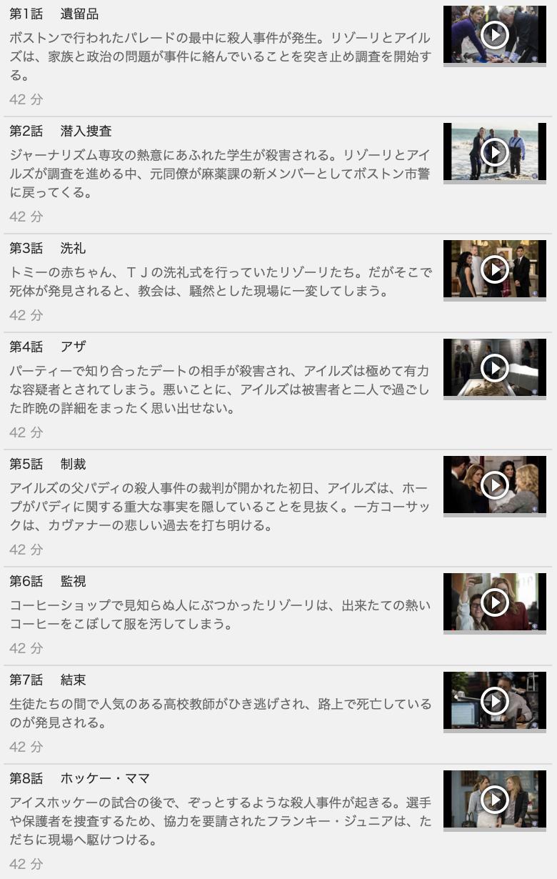 【RIZZOLI & ISLES<リゾーリ&アイルズ>シーズン4】の動画を全話見る方法は「U-NEXT(ユーネクスト)の31日間無料視聴」を活用することで解決!