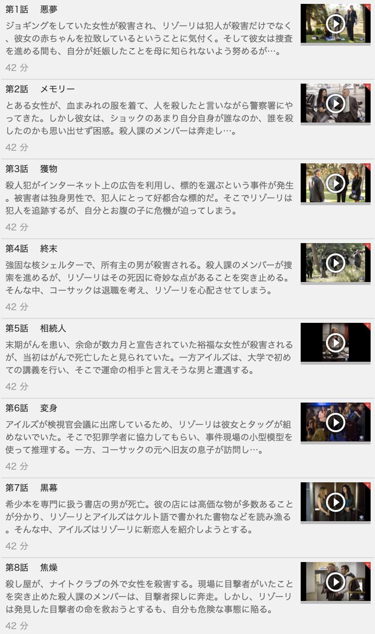 【RIZZOLI & ISLES<リゾーリ&アイルズ>シーズン5】の動画を全話見る方法は「U-NEXT(ユーネクスト)の31日間無料視聴」を活用することで解決!