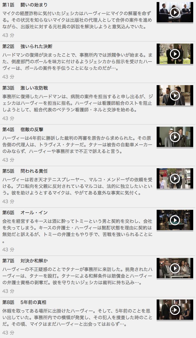 【スーツ シーズン2】の動画を全話見る方法は「U-NEXT(ユーネクスト)の31日間無料視聴」を活用することで解決!