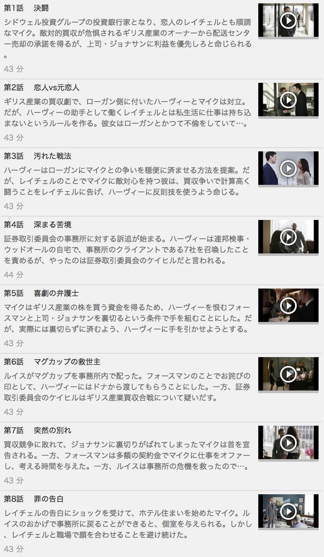 【スーツ シーズン4】の動画を全話見る方法は「U-NEXT(ユーネクスト)の31日間無料視聴」を活用することで解決!