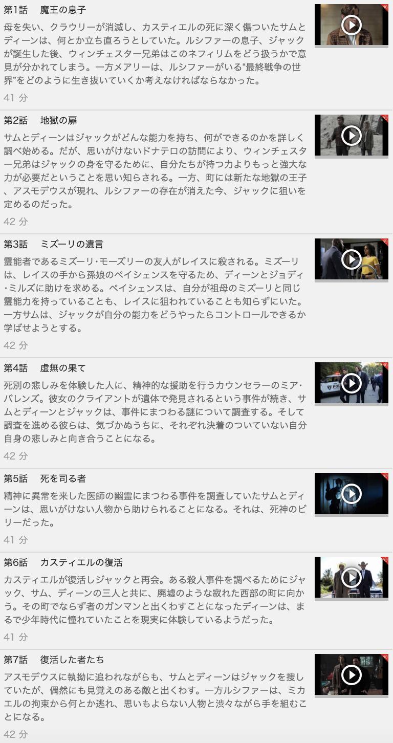 【SUPERNATURAL<スーパーナチュラル> シーズン13】の動画を全話見る方法は「U-NEXT(ユーネクスト)の31日間無料視聴」を活用することで解決!