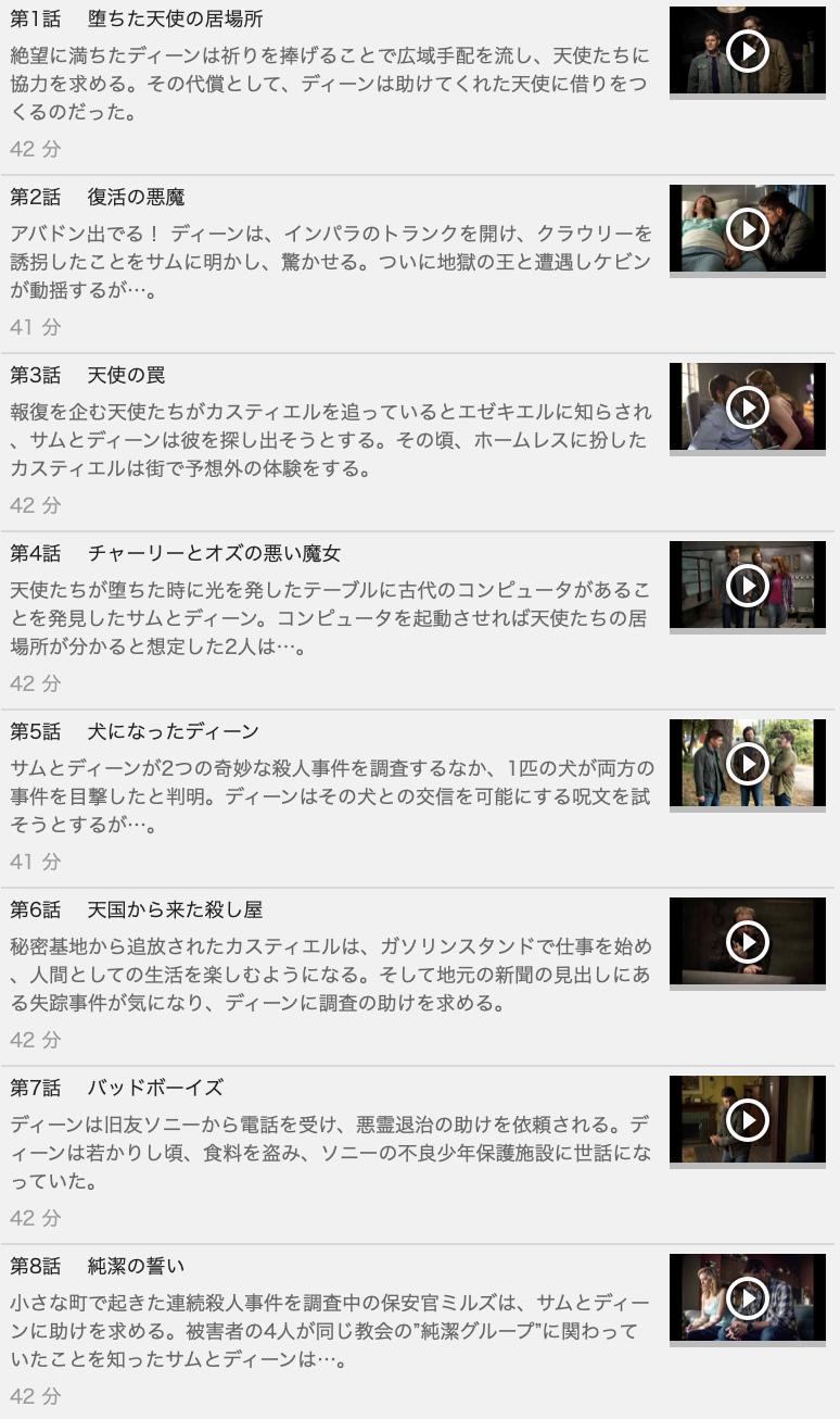 【SUPERNATURAL<スーパーナチュラル> シーズン9】の動画を全話見る方法は「U-NEXT(ユーネクスト)の31日間無料視聴」を活用することで解決!