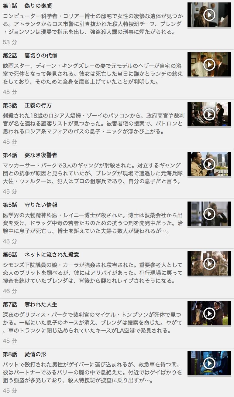 【THE CLOSER<クローザー>シーズン1】の動画を全話見る方法は「U-NEXT(ユーネクスト)の31日間無料視聴」を活用することで解決!