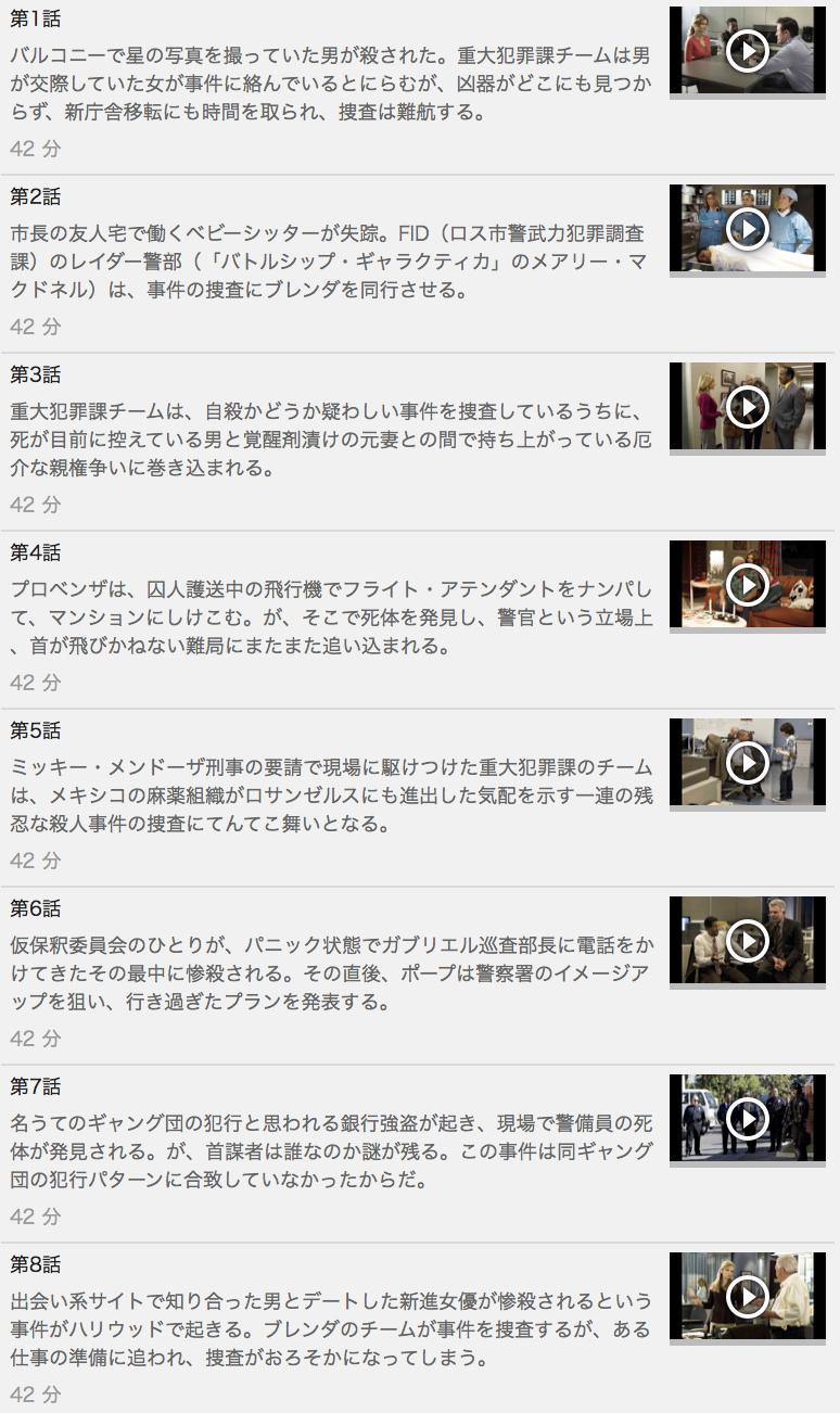【THE CLOSER<クローザー>シーズン6】の動画を全話見る方法は「U-NEXT(ユーネクスト)の31日間無料視聴」を活用することで解決!