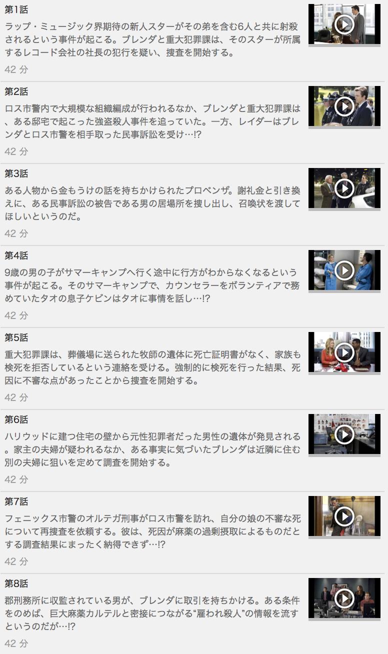 【THE CLOSER<クローザー>シーズン7】の動画を全話見る方法は「U-NEXT(ユーネクスト)の31日間無料視聴」を活用することで解決!