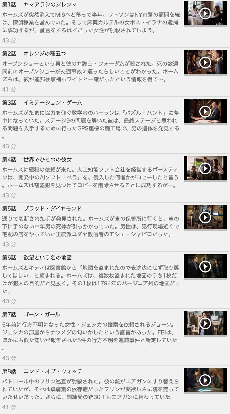 【ELEMENTARY<エレメンタリー>ホームズ&ワトソン IN NY シーズン3】の動画を全話見る方法は「U-NEXT(ユーネクスト)の31日間無料視聴」を活用することで解決!