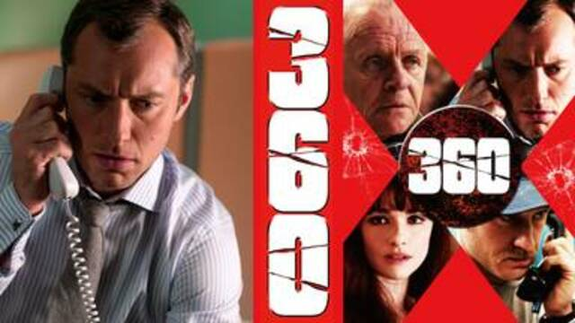 イギリス映画おすすめ【360】はNetflix・hulu・U-NEXTなど、どの動画配信サービスなら無料視聴でイッキ見する方法はあるのか?群像劇ドラマ映画【360】が安全に視聴できる動画配信サービス選びでスッキリ解決!