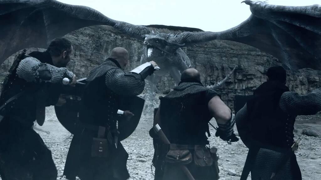 【ドラゴン・ウォーズ/戦士と邪悪な民】のストーリー(あらすじ)